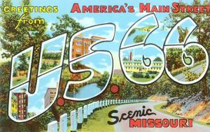 Greetings from US 66, Missouri