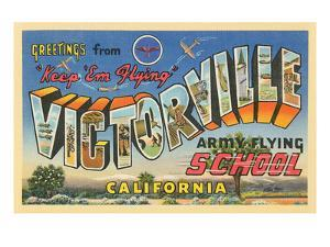 Greetings from Victorville, California