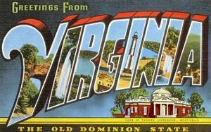 Greetings from Virginia, the Old Dominion State