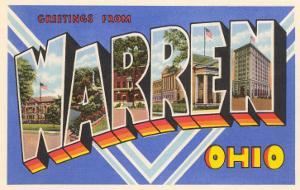 Greetings from Warren, Ohio