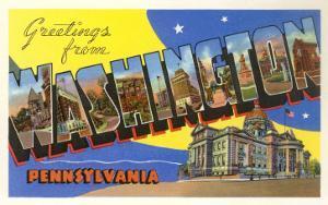 Greetings from Washington, Pennsylvania