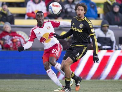 MLS: New York Red Bulls at Columbus Crew SC by Greg Bartram