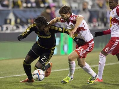 MLS: New York Red Bulls at Columbus Crew SC by Greg Bartram