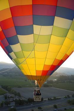 Hot Air Ballooning in Napa Valley California by Greg Boreham