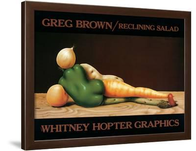 Reclining Salad by Greg Brown