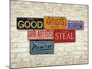 Picasso, Steal by Greg Constantine