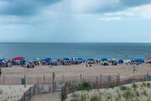 A View of Rehoboth Beach in the Summer by Greg Dale