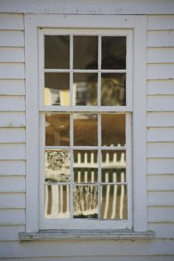 A Window Made with Antique Glass by Greg Dale