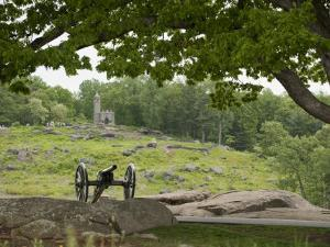 Cannon at Gettysburg Battlefield Protects Little Round Top by Greg Dale