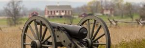 Cannon at Gettysburg National Military Park by Greg Dale
