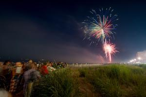 Fireworks at Rehoboth Beach on the 4th of July by Greg Dale