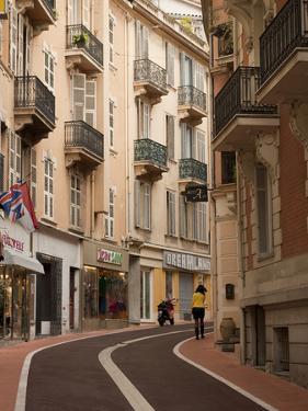 Side Street in Monaco, French Riviera, Cote D' Azure by Greg Dale