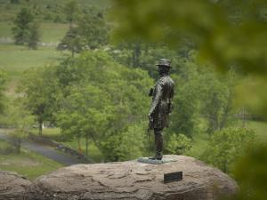 Statue of General Warren Representing July 2Nd, 1863 at Gettysburg by Greg Dale