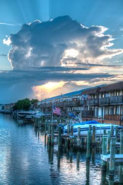 Waterfront Homes on the Bay Side of Ocean City by Greg Dale