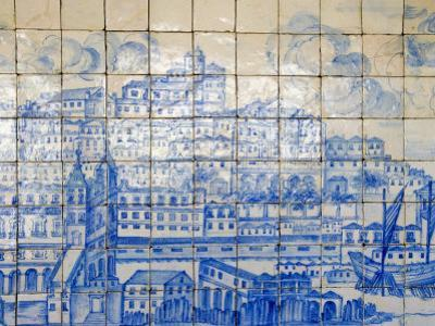Azulejos, Portugal's Painted Tiles at the Museo Nacional Do Azulejo, Lisbon, Portugal by Greg Elms