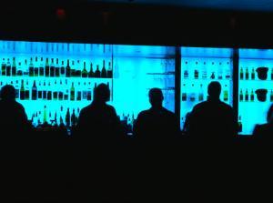 Bar at Aqua Luna, Circular Quay, Sydney, Australia by Greg Elms
