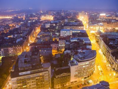 Central Belgrade at Dusk by Greg Elms