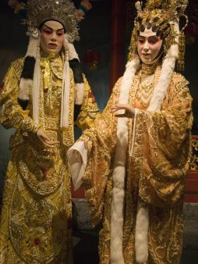 Chinese Opera Display, Hong Kong Museum of History, Tsim Sha Tsui, Hong Kong, China by Greg Elms