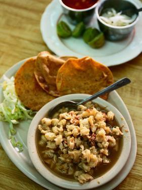 Pozole, a Specialty Dish of Jalisco, Jalisco, Mexico by Greg Elms