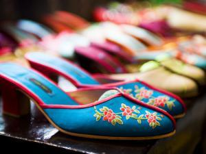 Shoes in Suzhou Cobblers, the Bund by Greg Elms