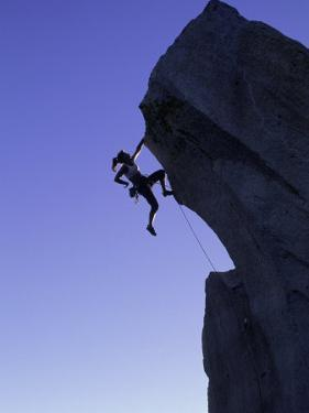 Rock Climber, the Needles, CA by Greg Epperson