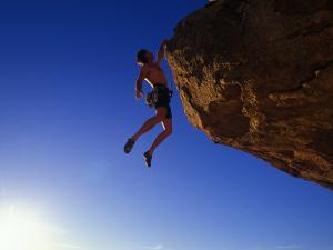Rock Climber by Greg Epperson