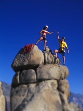 Rock Climbers by Greg Epperson
