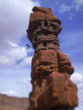 Rock Climbing, Canyonlands, UT by Greg Epperson