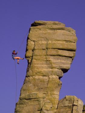 Rock Climbing, Hitchcock Pinnacle, Mt. Lemmon, AZ by Greg Epperson