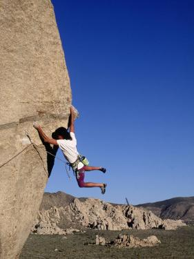 Rock Climbing, Joshua Tree, CA by Greg Epperson