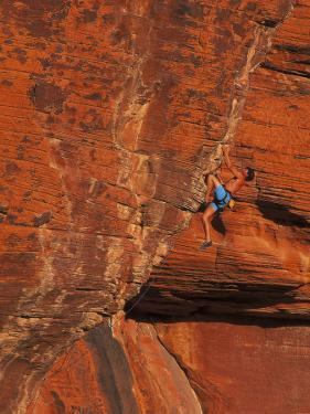Rock Climbing, Red Rock, NV by Greg Epperson