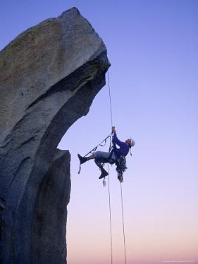Rock Climbing, the Needles, CA by Greg Epperson
