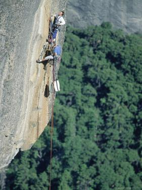 Rock Climbing, Yosemite National Park, CA by Greg Epperson