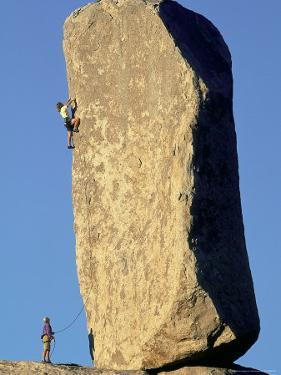 Rock Climbing by Greg Epperson