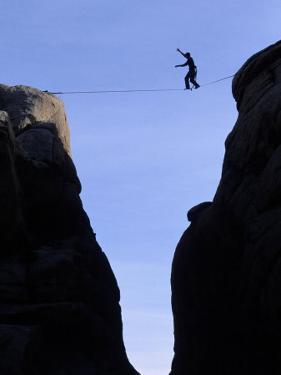 Tightrope Walking, Joshua Tree, CA by Greg Epperson