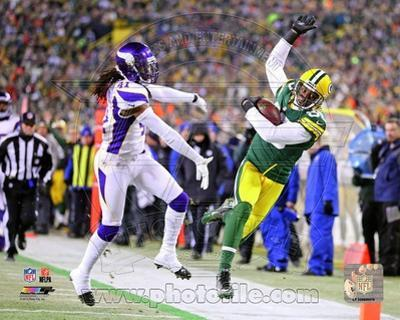 Greg Jennings 2012 Playoff Action