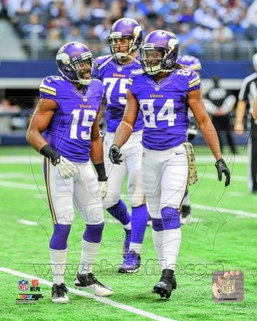 Greg Jennings & Cordarrelle Patterson 2013 Action
