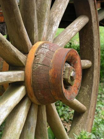 Missouri, Brandon, Wooden Wagon Wheels Were the Main Mode of Transportation Out of Brandon