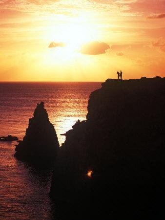 Cabo Rojo at Sunset, Puerto Rico