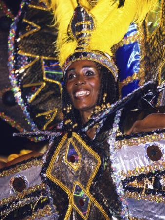 Crop over Carnival, Bridgetown, Barbados, Caribbean by Greg Johnston