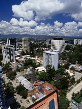 High-Rises in Downtown, Guatemala City, Guatemala by Greg Johnston