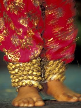 Indian Cultural Dances, Port of Spain, Trinidad, Caribbean by Greg Johnston