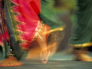 Indian Cultural Dances, Port of Spain, Trinidad, Caribbean by Greg Johnston