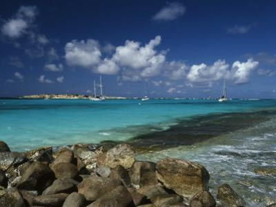 Orient Bay, St. Martin, Caribbean by Greg Johnston