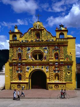 The 16th Century Decorated Church of San Andres Xecul, Totonicapan, Guatemala by Greg Johnston