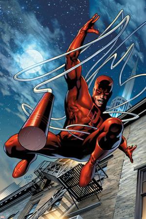 Daredevil No.65 Cover: Daredevil by Greg Land