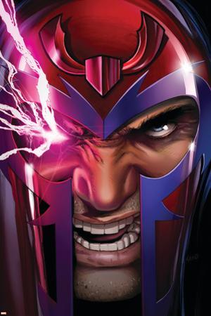 Uncanny X-Men No.516 Cover: Magneto by Greg Land