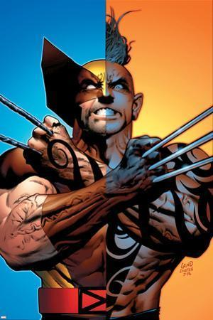 Wolverine: Origins No.26 Cover: Wolverine and Daken by Greg Land