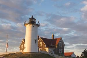 Cape Cod, Nobska Lighthouse on the coast of Massachusetts, near Woods Hole by Greg Probst
