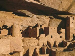 Cliff Palace Ruin in Mesa Verde National Park, Colorado by Greg Probst